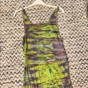 Dresses & Skirts - Green Boho Floor Length Summer Dress